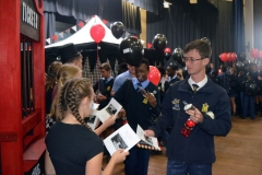 Excited matrics receiving their invites.