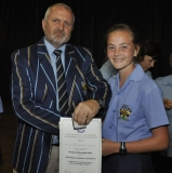 Mr Magnus Steyn (principal) and Emma Dalrymple-Hay.