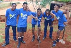 Malose Kgomo, Hlulani Ngobeni, Erwin Tshehla, Phaladi Ndove en Nduna Nkuna.