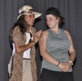 Zayana Moosa en Michelle Robertson.