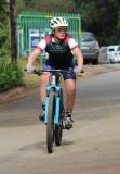 Johan van den Heever – fietsryer vir die 202-span.