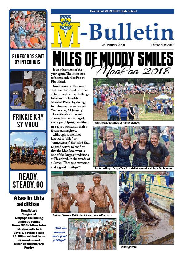 M-Bulletin: 31 Jan 2018