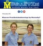 M-Bulletin: 11 November 2016