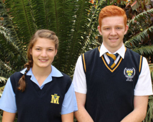 ELIGIBLE FOR THE LIMPOPO TEAM: Megan-Mae van der Nest and Ivan Botha.
