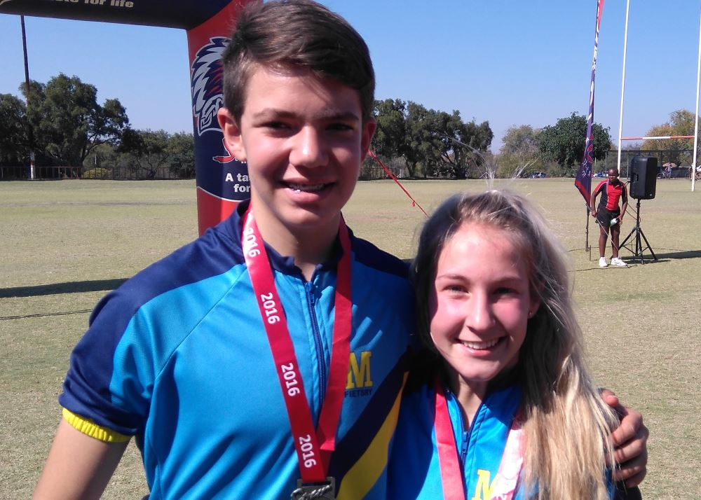 Janco Coetzee and Amelia Middleton