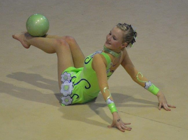 Ezri Hugo - Gymnastics