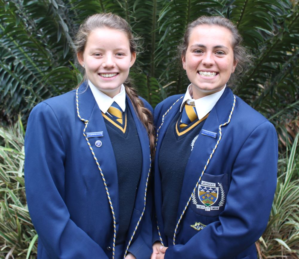Clariska Venter and Elzanne Engelbrecht.