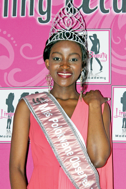 Miss Polokwane Observer Cover Girl - Ronnel Homu