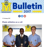 M-Bulletin: 13 Feb 2017