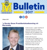 M-Bulletin: 6 Maart 2017