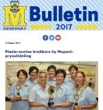 M-Bulletin: 27 Maart 2017