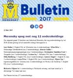 M-Bulletin: 22 Mei 2017