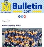M-Bulletin: 7 Augustus 2017