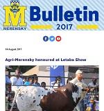 M-Bulletin: 14 Augustus 2017