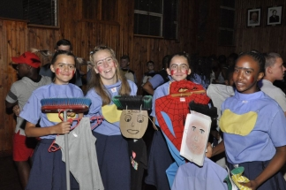 Zani Pick, Luzaan Spies, Marie-Louise le Roux and Peace Chiloane.