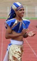 Best boy cheerleader: Chris Bill