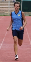 Best senior girl on the track: Sancha van Niekerk.