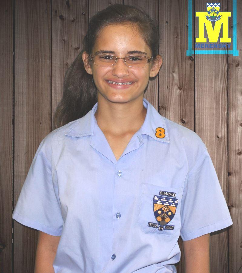 Graad 8 rolbalster: Saira Junquiera.