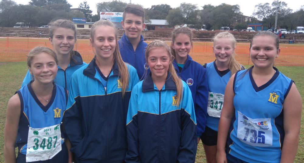 Front: Jade Coppen, Micaela Dale, Jamie Coppen and Jodi Spaumer. Back: Anri McLean, Janco Coetzee, René Wiese and Cherlyn Schmidt. Absent: Tayla Vos, Armand Cronjé and Francois Nothnagel.