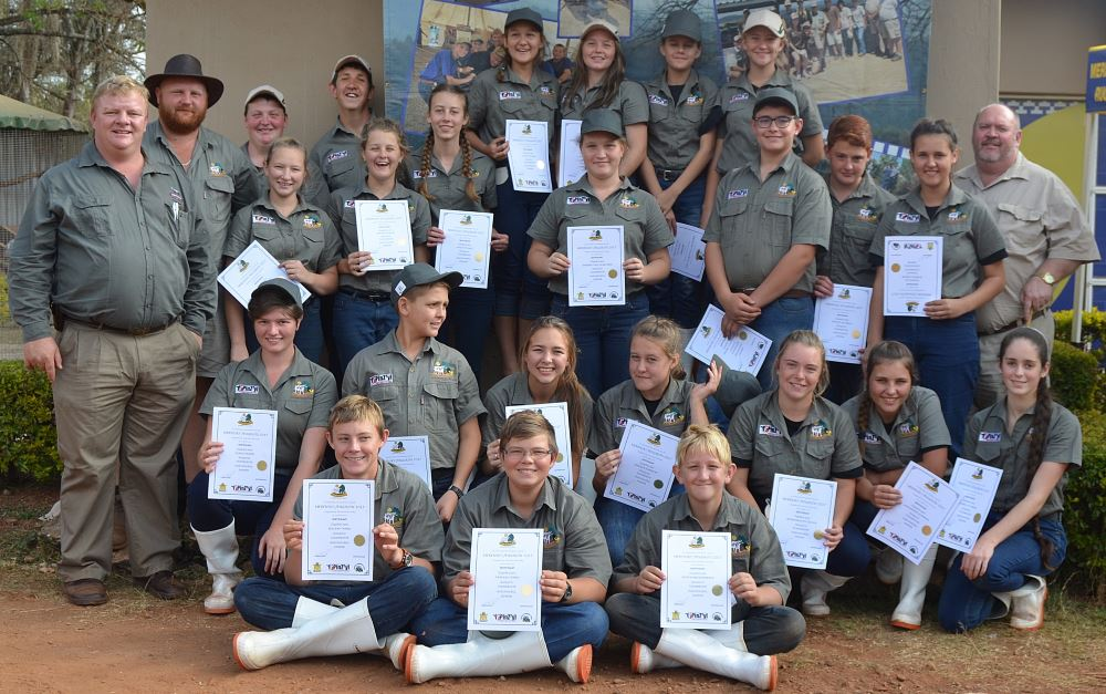 The Merensky youth Show showmen.