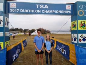 Janco Coetzee en Amelia Middleton in hul Gauteng-Noord kleure.