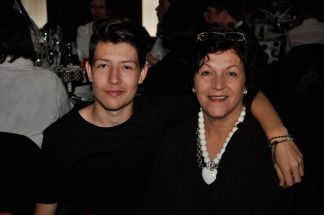 Marno Goosen and Mom Jackie.