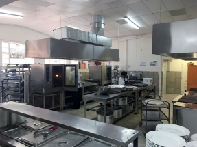 A state of the art kitchen.