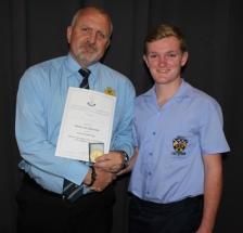 Mr Magnus Steyn (headmaster) and Dawie van Jaarsveld.