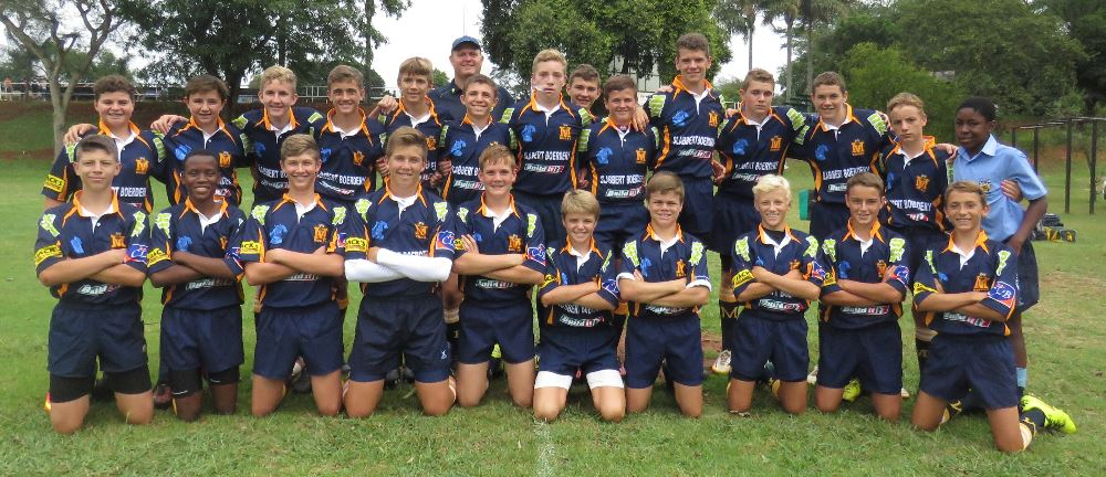 THE U.14A TEAM WON 74-0.