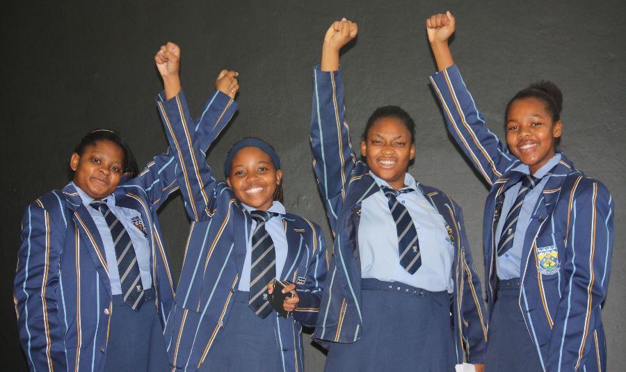 Hlayisanani Shingangi, Lulama Mkhawana, Shumikazi Ngonyoza en Palesa Shiluvane.