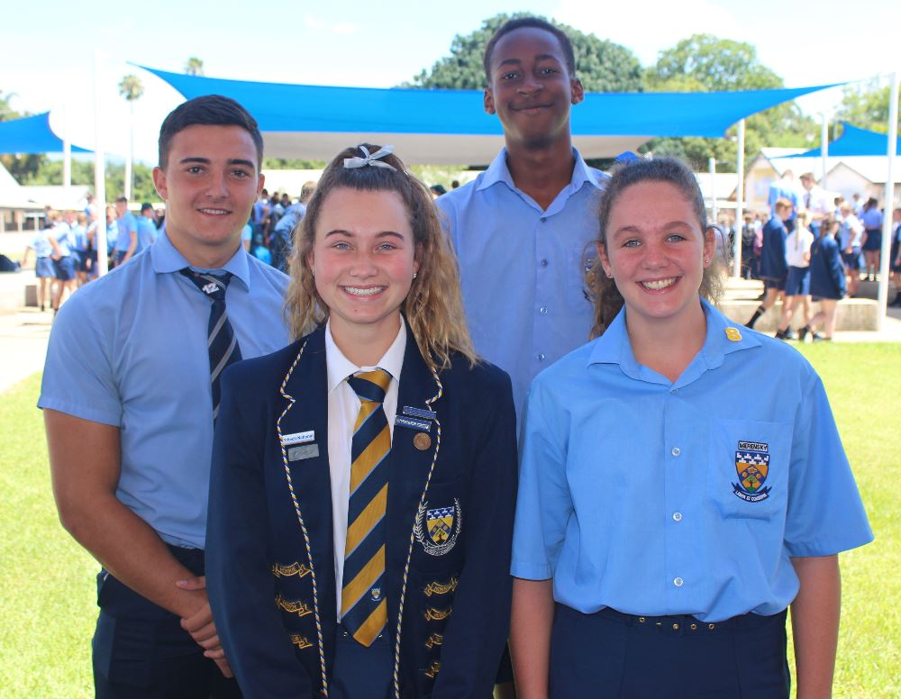 Pieter Gouws (o.19), Senior Victor Ludorum, Kesia Pohl (o.19), Senior Victrix Ludorum, Valley Ngobeni (o.15), Junior Victor Ludorum & Elandri Jansen van Rensburg (o.14), Junior Victrix Ludorum.