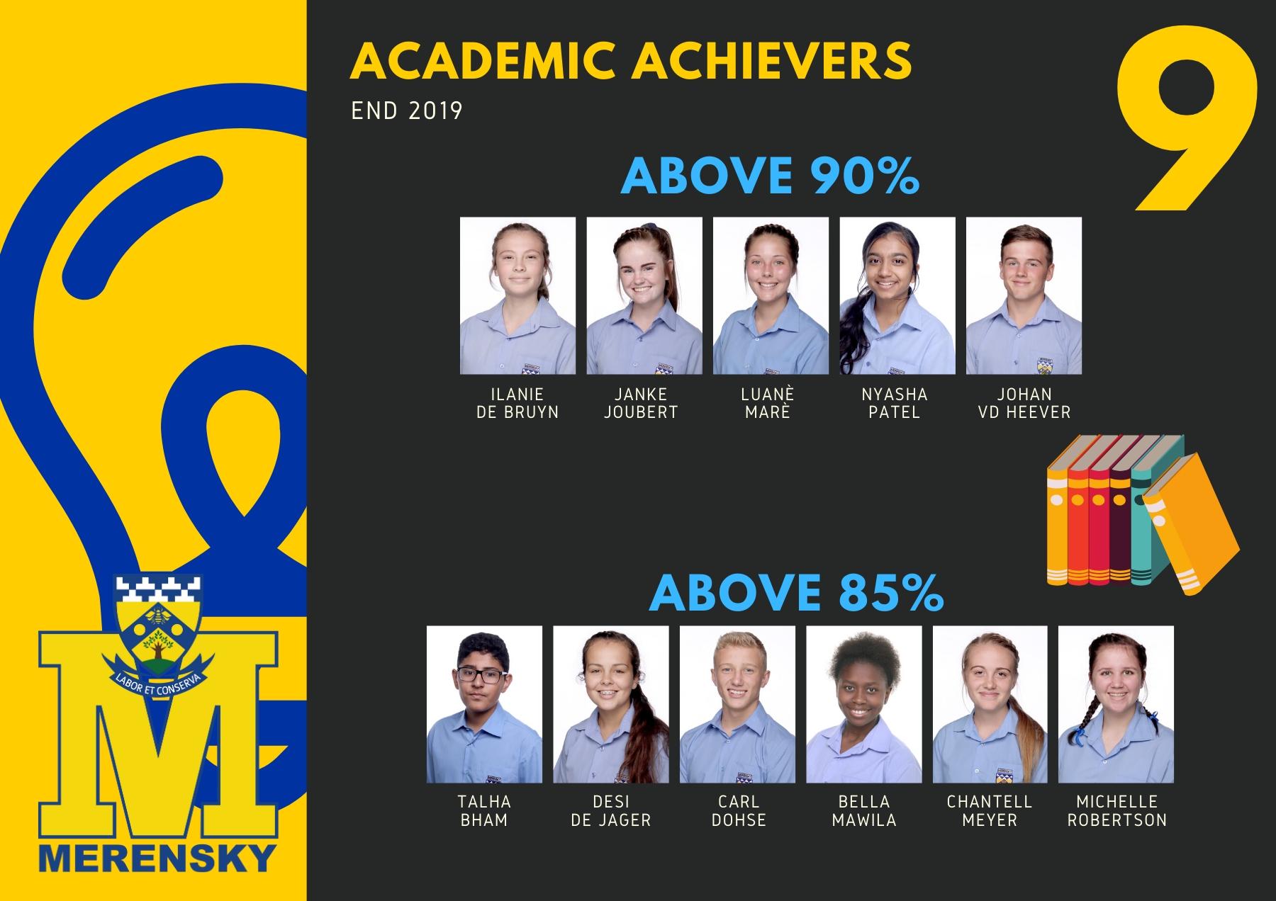 Gr 9 Akademiese Presteerders