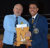 Mr Magnus Steyn (Principal) and Chris Bill.