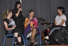 SAY YES TO THE DRESS Wilna van Niekerk, Mari Weber, Trudie Botha and Sanet Bouwer.