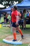 Stefan Corbett (seuns o.17) breek die diskus rekord met amper 7 meter (hy gooi 37.75 meter).