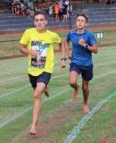 Adriaan Nel en Franco Pretorius (seuns o.14) breek albei die 400m, 800m en 1500m rekords.