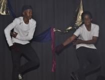 WINNER, DANCE GROUP – Tetelo Mokoni and Tebogo Malebati.