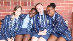 GRADE 10 ENGLISH Michaela Stanley, Refilwe Masehela, Nichola Glazer and Mmakgomo Mashile.