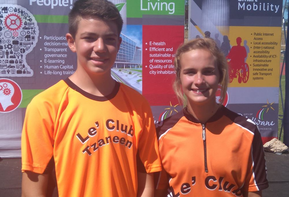 Janco Coetzee and Christelle Coetzer.