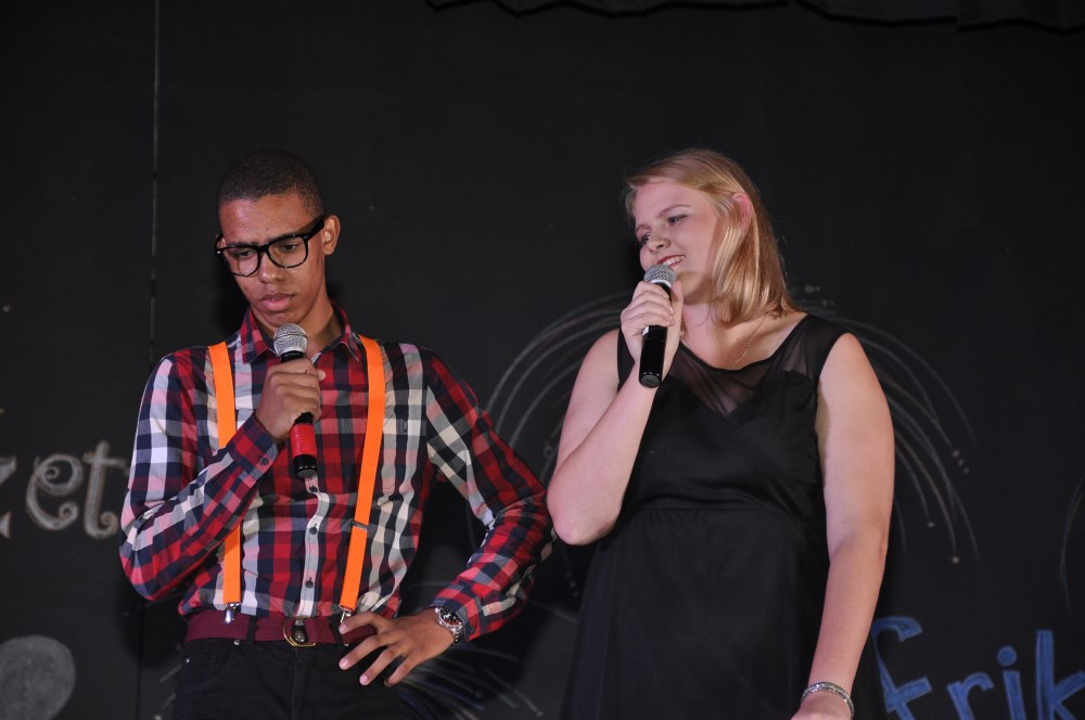 HOSTS: Chris Bill and Elzette van Dyk.
