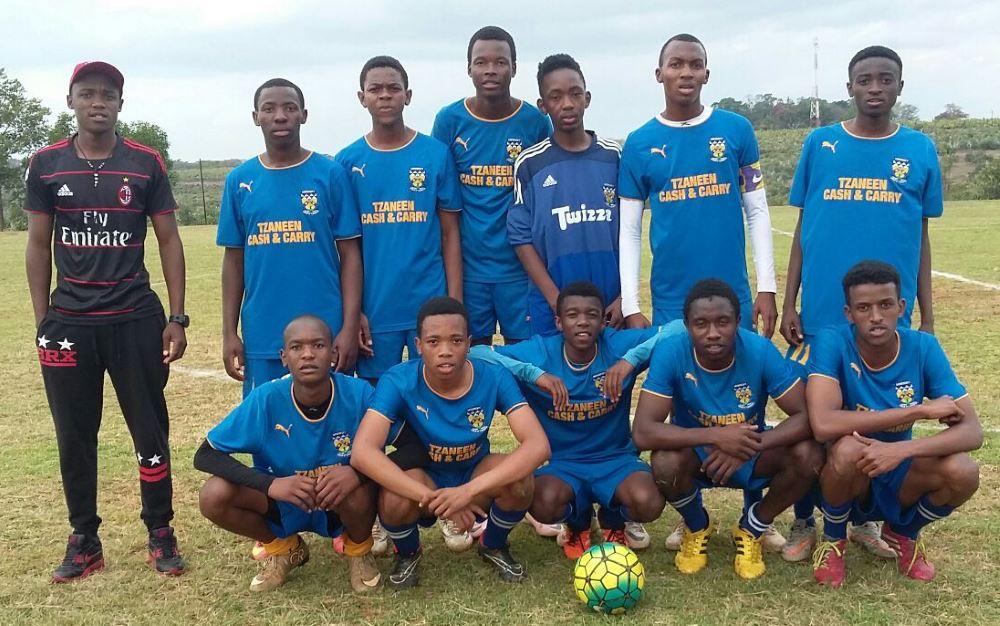 Soccer senior team vs The King's Court