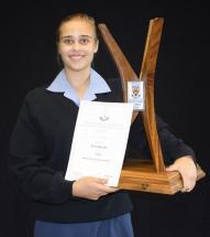 Beste senior landboustudent: Aricia Brooks.