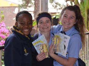 Chantelle Maswanganyi, Roelien O'Neill and Lilly Pohl.