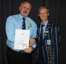 Mr Magnus Steyn (headmaster) and Ryan Jackson.