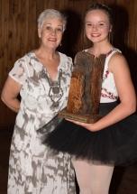 Ms Mari Weber with Suandrie Corbett.