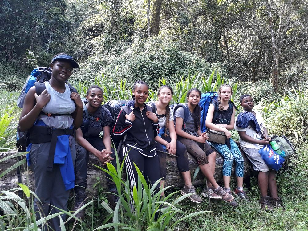 Victory Mathebula, Una Radzuma, Palesa Shiluvane, Charlize Krause, Nyasha Patel, Katelyn Kurten & Keightly Mabasa.